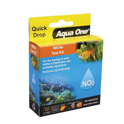 AQUA ONE QUICKDROP NITRITE TEST KIT