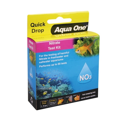 AQUA ONE QUICKDROP NITRATE NO3 TEST KIT