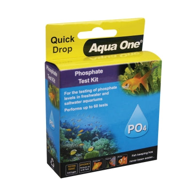 AQUA ONE QUICKDROP PHOSPHATE PO4 TEST KIT