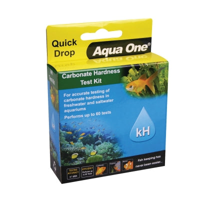 AQUA ONE QUICKDROP CARBONATE HARDNESS KH TEST KIT