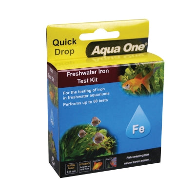 AQUA ONE QUICKDROP IRON TEST KIT