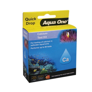 AQUA ONE QUICKDROP CALCIUM TEST KIT