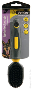PET ONE GROOMING BRISTLE BRUSH SML