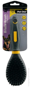 PET ONE GROOMING BRISTLE BRUSH LGE