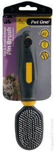PET ONE GROOM.CAT PLAS/PIN BRUSH