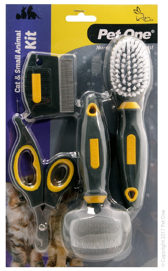 PET ONE GROOMING CAT CARE KIT