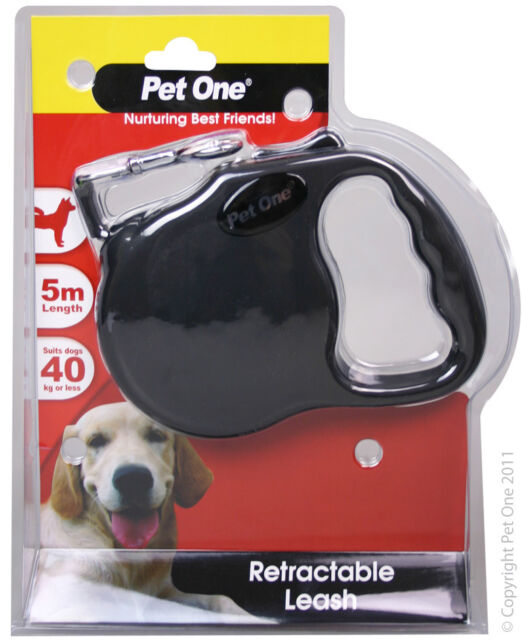 PET ONE LEAD 5M BLACK