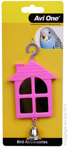 AVI ONE BIRD TOY HOUSE MIRROR