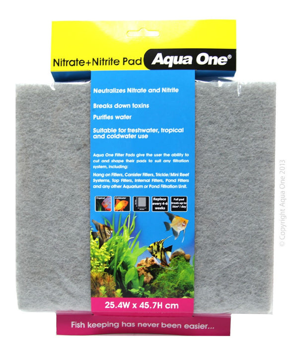 AQUA ONE NITRITE/NITRATE SELF CUT PAD