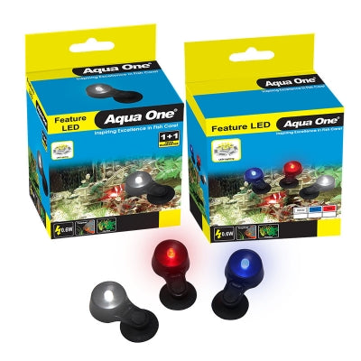 AQUA ONE SUBMERSIBLE LED W/TRANSFORMER & 4 WAT SPLIT