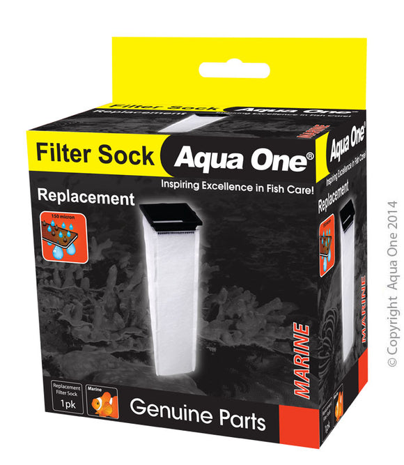 AQUA ONE REPLACEMENT FILTER SOCK