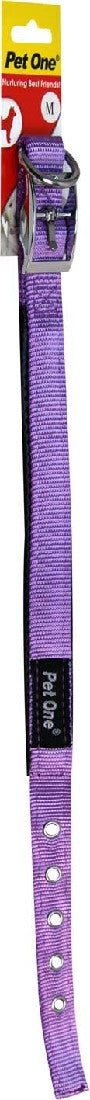 PET ONE 27-37CM COLLAR NYLON 20MM PURPLE