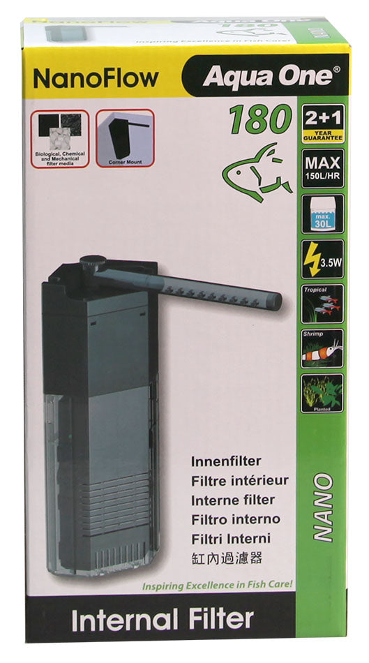 AQUA ONE NANOFLOW 180 INTERNAL FILTER