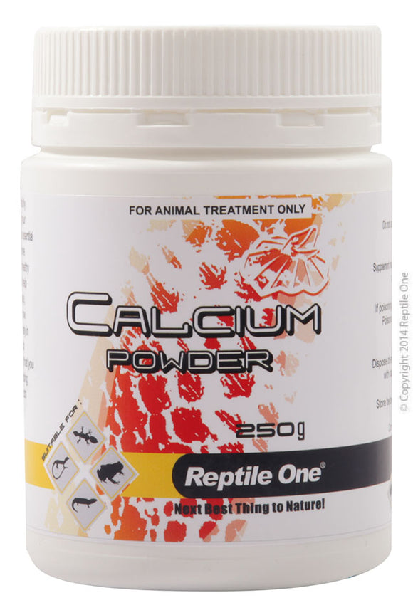 REPTILE ONE CALCIUM POWDER REPTILE 250G