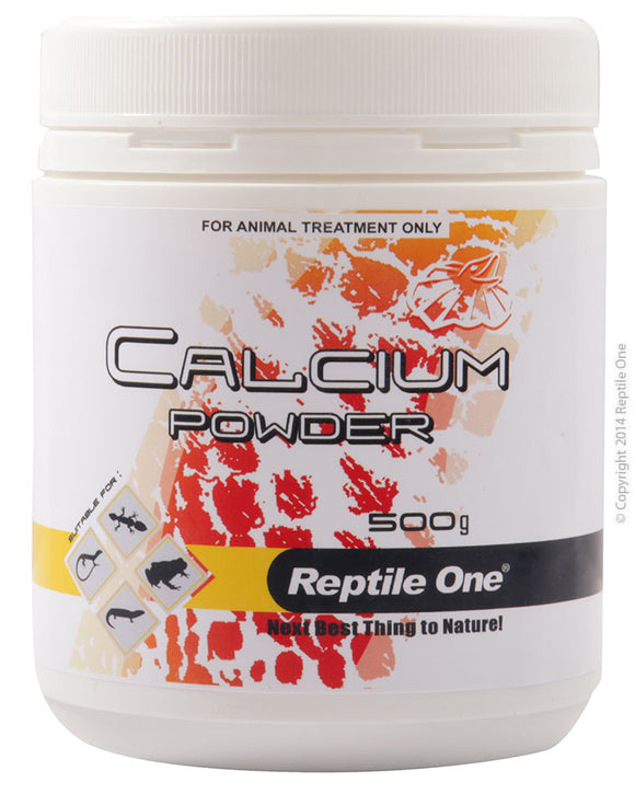REPTILE ONE CALCIUM POWDER REPTILE 500G