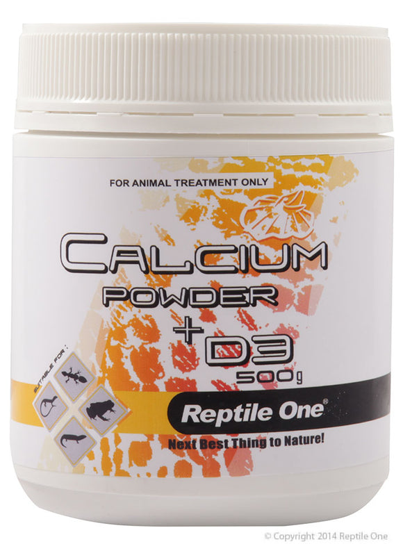 REPTILE ONE CALCIUM POWDER + D3 REPTILE 500G
