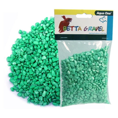 BETTA GRAVEL METALLIC GREEN 350G