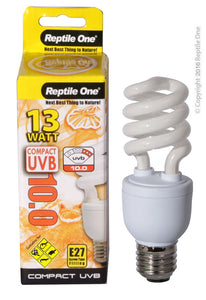 REPTILE ONE COMPACT UVB BULB 13W UVB 10.0