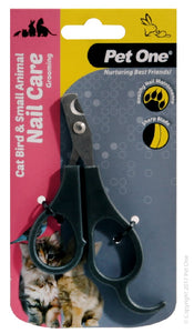 PET ONE GROOMING CAT BIRD & SMALL ANIMAL NAIL CLIPPERS