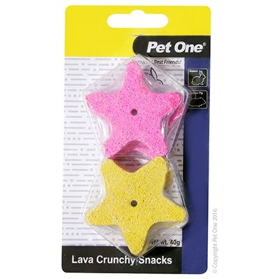 PET ONE LAVA CRUNCHY SNACKS 4PK