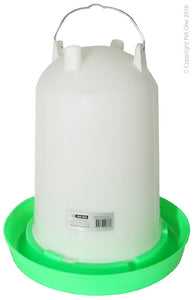 PET ONE POULTRY GRAVITY DRINKER 14L 37CM DIA x 41.5CM H