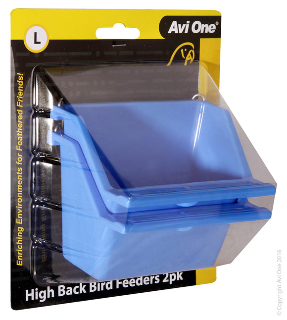 AVI ONE FEEDER HIGH BACK WITH PERCH LARGE