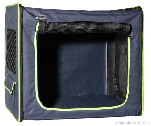 PET ONE KENNEL PORTABLE SOFT LARGE