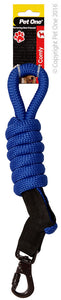 PET ONE 120CM LEASH COMFY 13MM ROYAL BLUE