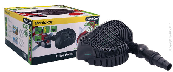 POND ONE MANTARAY 4000 FILTER PUMP 4000L/H