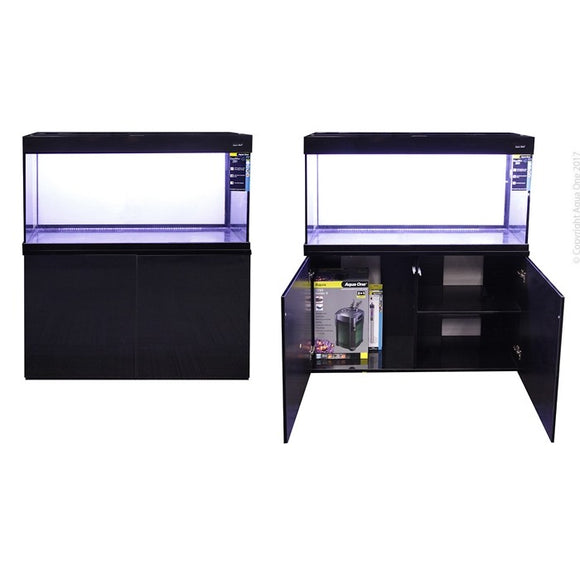 AQUA ONE GRANDVIEW 290L AQUARIUM BLACK