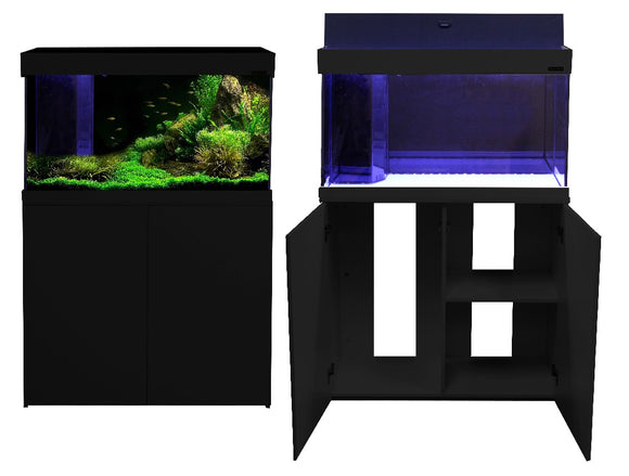 AQUA ONE AQUATICA 160 AQUARIUM 160L BLACK
