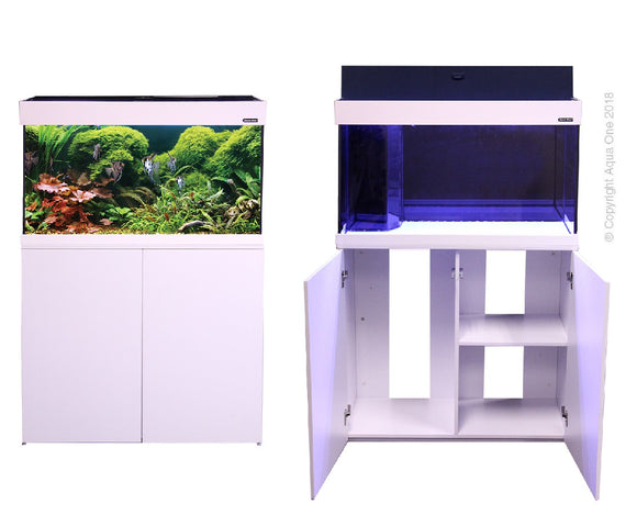 AQUA ONE AQUATICA 160 AQUARIUM 160L WHITE
