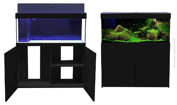 AQUA ONE AQUATICA 240 AQUARIUM 240L BLACK