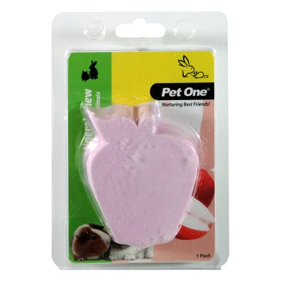 PET ONE SMALL ANIMAL MINERAL CHEW APPLE