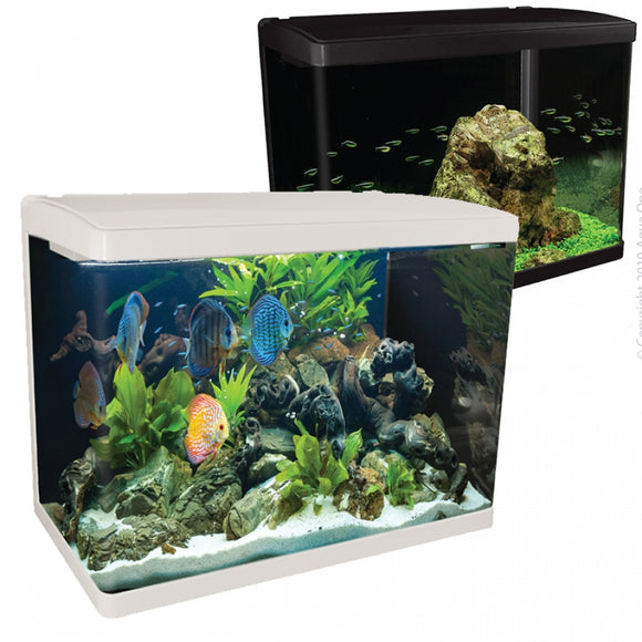 AQUA ONE LIFESTYLE 94 AQUARIUM GLOSS WHITE