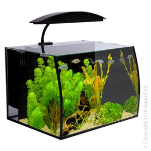 AQUA ONE ARC 30 GLASS AQUARIUM 30L