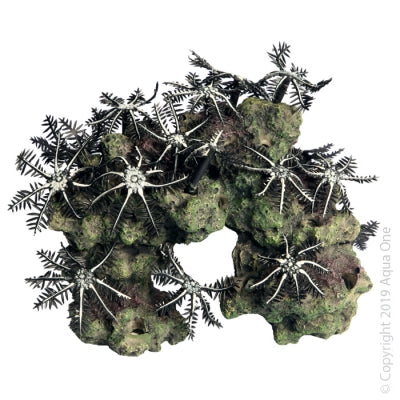 ORNAMENT COPI CORAL GARDEN BLACK & WHITE