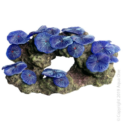 ORNAMENT COPI GARDEN BLUE