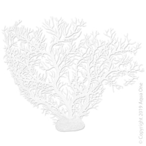 ORNAMENT COPI CORAL FAN CORAL WHITE