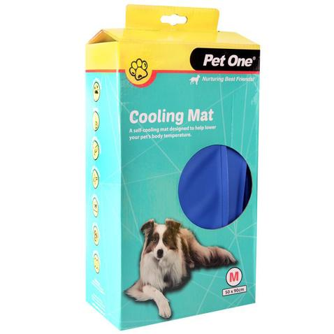 PET ONE BEDDING GEL COOLMAT M 50 X 90CM