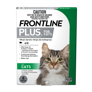 FRONTLINE PLUS CAT 6PK