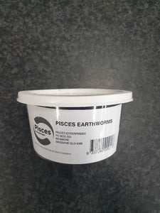 PISCES EARTHWORMS 40ML TUB