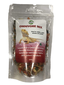 PISCES FREEZEDRIED OMNIVORE MIX 100GM