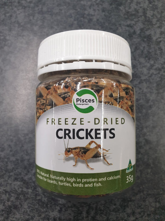 PISCES FREEZEDRIED CRICKETS JAR 35G