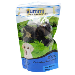 YUMMI ROO TAIL PIECES TREAT 150GM