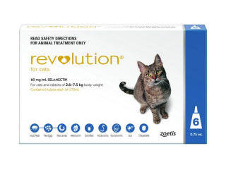 REVOLUTION CAT 2.6-7.5KG BLU 6PK