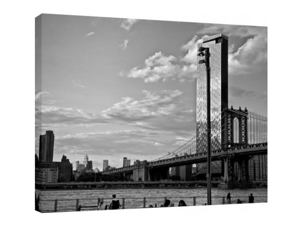 >> ONE MANHATTAN SQUARED >> CANVAS ART