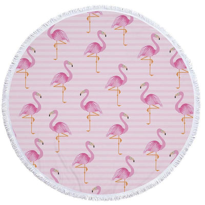 Flamingo Beach Towel