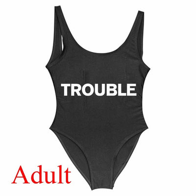 Trouble Maker Matching swimsuit
