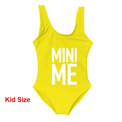 Me-Mini Me Matching swimsuit